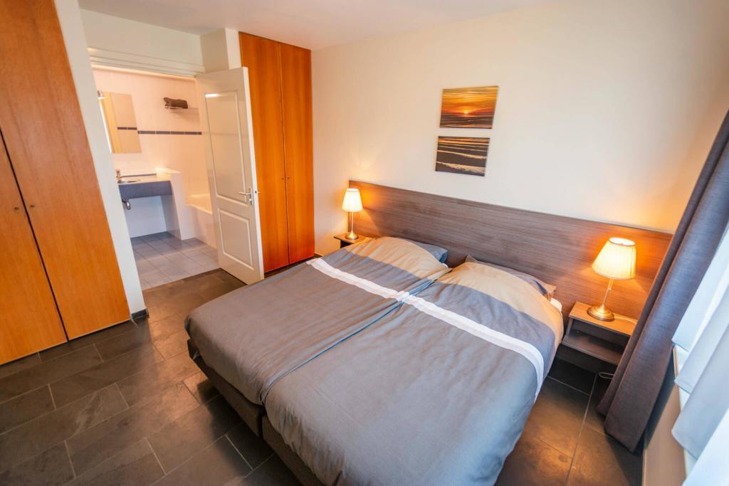 slaapkamer op de b.g.g. van het vakantiehuis