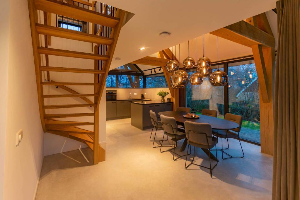 interieur vakantie villa