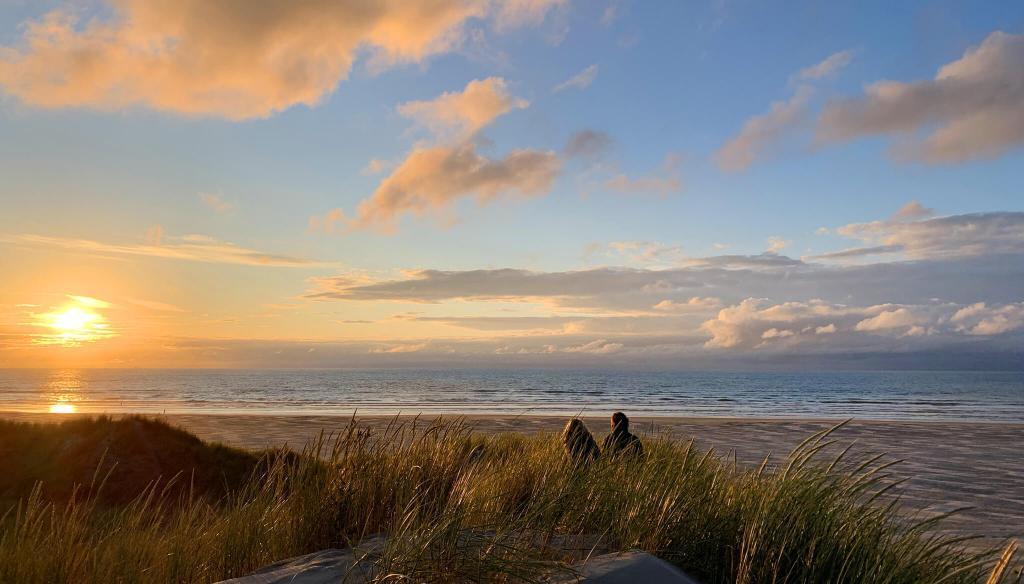strand Formerum aan zee Terschelling